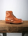 Grenson Fred Brogue Boot Tan 2f 2f AW12 Grenson Fred Boot with Goodyear Welted Sole in Tan Calf Leather