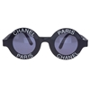 Chanel Chanel Paris Logo Frame Sunglasses At 1Stdibs