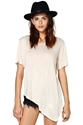 Nasty Gal Playing Favorites Tee Nude