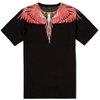 Marcelo Burlon Alas Tee Black Red