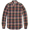 Gant Rugger India Slub Madras Shirt Lead Check