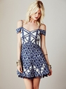 Free People Crystallized Cutaway Dress at Free People Clothing Boutique