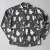 Soulland BaBar Paris Shirt L 2fS Black