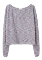 Girl by Band of Outsiders 2f Knit Tweed Sweatshirt 7c La Gar c3 a7onne
