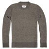 Maison Martin Margiela 14 Elbow Patch Crew Anthracite Brown