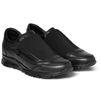 Lanvin Elasticated Leather Sneakers Mr Porter