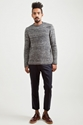 Marni Wool and Cashmere Sweater Night Blue TR c3 88S BIEN