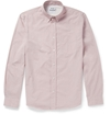 Acne Studios Isherwood Button Down Collar Cotton Poplin Shirt Mr Porter