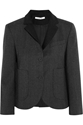Pinstriped Stretch Wool Blend Blazer Carven The Outnet
