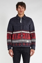 Timber Blanket Jacket Navy Slamjamsocialism