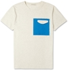 Oliver Spencer c2 a0Square Print Cotton Crew Neck T Shirt c2 a0 7c c2 a0MR PORTER