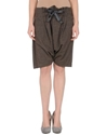 Manila Grace Women Trousers Bermuda Shorts Manila Grace On Yoox