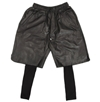 En Noir Leather Shorts w 2fcotton underleg buy online Union Los Angeles