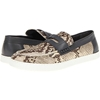 Just Cavalli Python Effect Penny Loafer Natural Zappos Couture