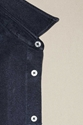 Our Legacy Classic Shirt Deep Navy Raw Silk Our Legacy