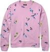 Raf Simons c2 a0Flower Print Loopback Cotton Blend Sweatshirt c2 a0 7c c2 a0MR PORTER