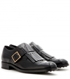 Monk Strap Leather Brogues Tod's Mytheresa.Com