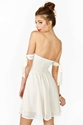 For Love Lemons Kiss Me Dress Ivory In Clothes Dresses At Nasty Gal