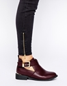 River Island River Island Red Jennie Cut Out Boots At Asos