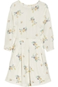 Band of Outsiders c2 a0 7c c2 a0Floral print silk habotai dress c2 a0 7c c2 a0NET A PORTER COM