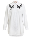 No21 Embroidered Cotton Shirt Browns Fashion Designer Clothes Clothing