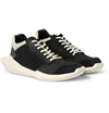 Rick Owens Adidas Panelled Leather And Fabric Sneakers Mr Porter