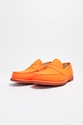 Carven Penny Loafer Leather Orange 7c TR c3 88S BIEN SHOP