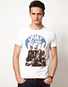 ASOS 7c ASOS T Shirt With Saved By The Bell Print at ASOS