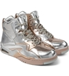 British Knights Silver Chrome Control Hi Sorayama Shoes Hypebeast Store. Shop Online For Men's Fashion Streetwear Sneakers Accessories