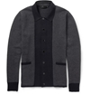 Product Alexander Mcqueen Woven Cotton And Cashmere Blend Cardigan 396722 Mr Porter
