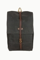 Archival Clothing Rucksack Brown Waxed Twill 7c LYONSTATE