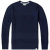 Norse Projects Bubble Crew Knit Navy