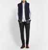 Barena Textured Wool Blend Gilet Mr Porter