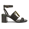 See By Chloe Women's Block Heeled Sandals Black Womens Footwear Free Uk Delivery Over 50