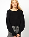 Monki Rib Knitted Jumper