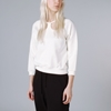 Peter Jensen Cut Out Collar Sweatshirt Offwhite