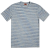 Missoni Striped Jersey Tee Sky Mix
