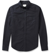 Band Of Outsiders Button Down Collar Cotton Oxford Shirt