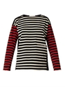 Multi Stripe Cotton Top Stella Mccartney Matchesfashion.Com