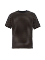 Cross Print Short Sleeved Sweatshirt Mcq Alexander Mcqueen ...