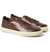 Gucci Python Low Top Sneakers Mr Porter