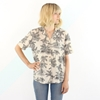 Palm Tree Short Sleeve Summer Shirt M par aglassjar sur Etsy