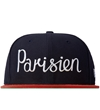 Maison Kitsune Navy Red 59 Fifty New Era Cap Hypebeast Store. Shop Online For Men's Fashion Streetwear Sneakers Accessories