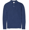 Hartford c2 a0Long Sleeved Linen Jersey Polo Shirt c2 a0 7c c2 a0MR PORTER