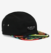 The Quiet Life Ojos 5 Panel Cap with Brim Pattern 7c HUH Store