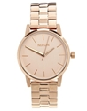 Nixon Nixon Small Rose Gold Kensington Watch At Asos