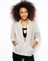 Monki Monki Textured Bomber Jacket At Asos