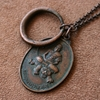 Vintage Monk Dragon and Tiger Necklace with by losttribedesigns