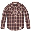 Neighborhood Dead Wood Check Shirt Red