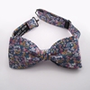 Women 27s bow tie Blue floral cotton Women 27s bow ties by Knot Now Everything else Everything else DaWanda